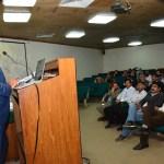UAF Treasurer Umar Saeed Addresses The Faculty
