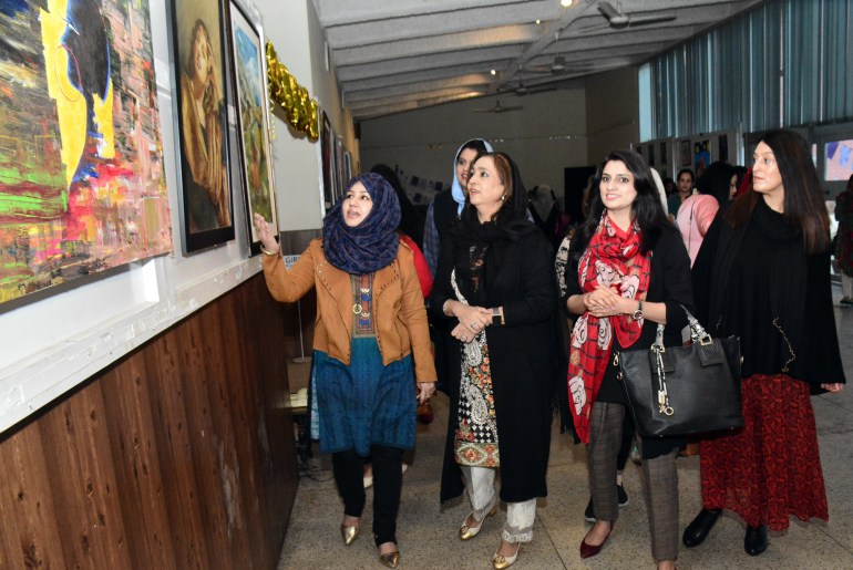 Seminar ,Nutrition Camp And Art Exhibition Held At UAF