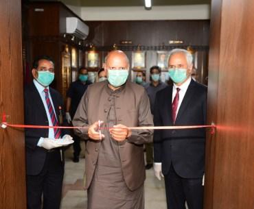 Governor opens Punjab Mental Health Helpline at GCU