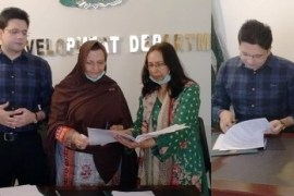 MOU Signed For E-Training For Girls In Lockdown