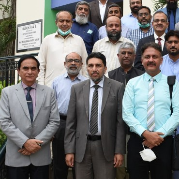 PEC team conducts SSUET'S reaccreditation visits
