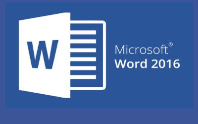 Microsoft Word Básico 2016