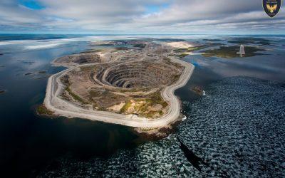 Ecologia na Mineração de Diamantes
