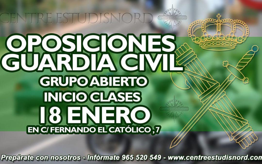 Prepara tus oposiciones de Guardia Civil en Alcoy