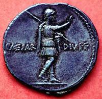 Risultati immagini per saluto romano monete