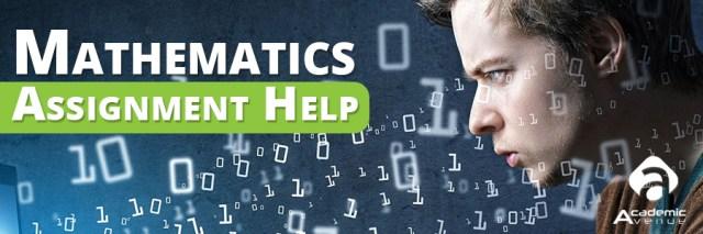 Mathematics Assignment Help US UK Canada Australia New Zealand