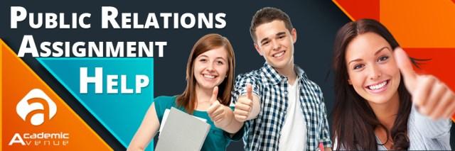 Public Relations Assignment Help US UK Canada Australia New Zealand
