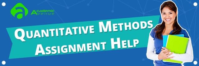 Quantitative Methods Assignment Help US UK Canada Australia New Zealand