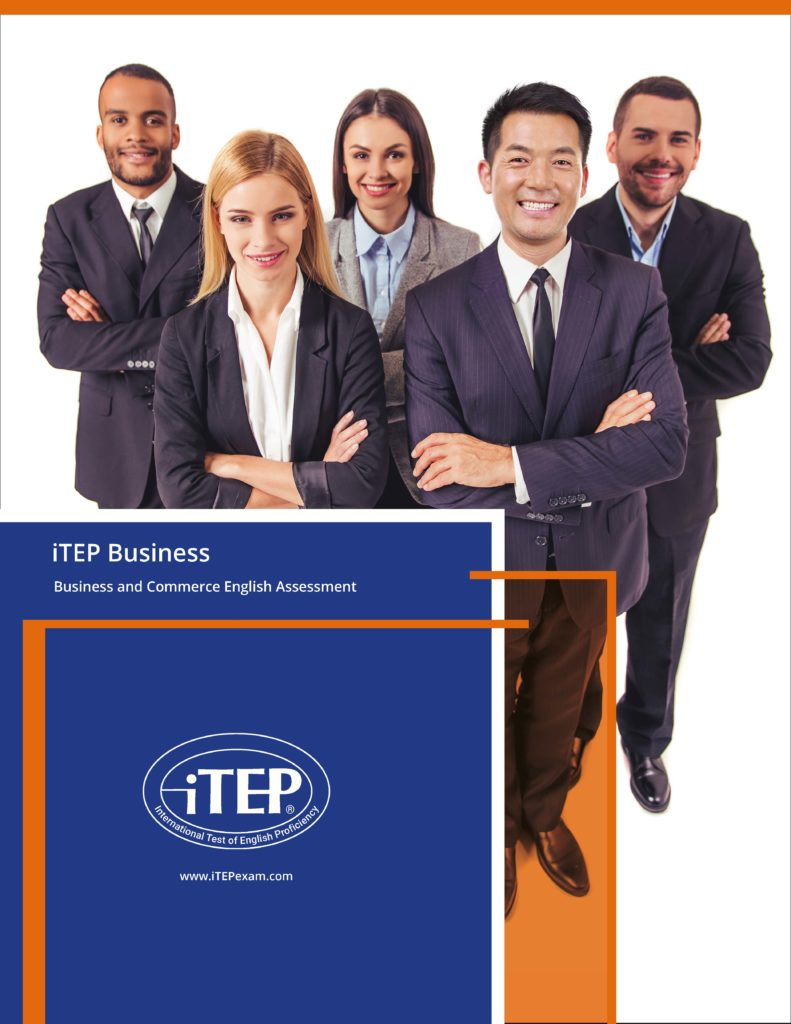 iTEP Business test brochure cover