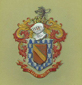 Marquis de Lafayette Collections  Memorabilia  Coat of Arms
