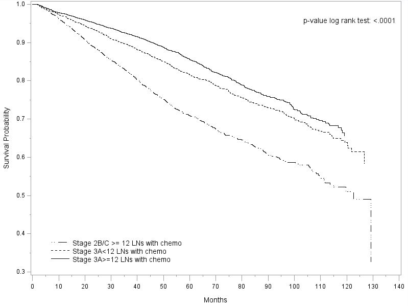 70 07 Positive Margins Contribute To The Survival Paradox Between Stage 2b C And Stage 3a Colon Cancer Academic Surgical Congress Abstracts Archive