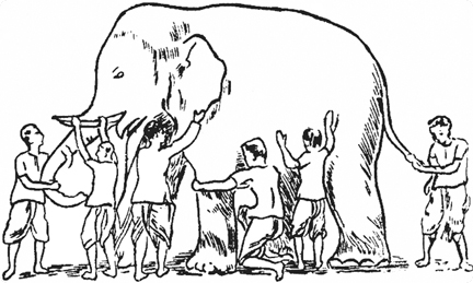 The Blind Men and The Elephant