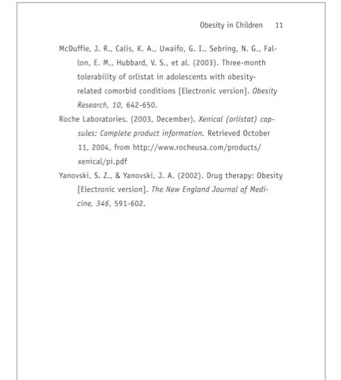 Sample APA Paper MLA Format