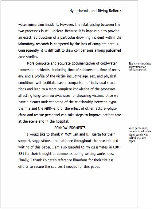 Sample CSE Paper MLA Format