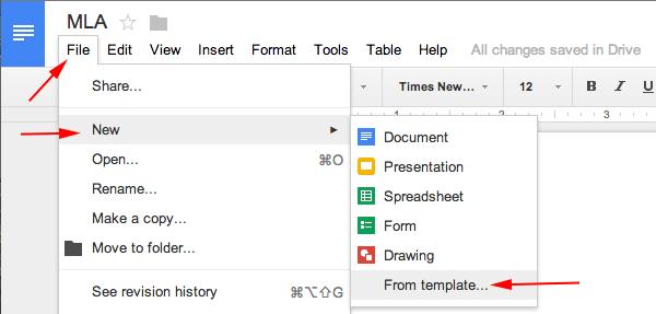 Mla For Essay Mla Format Google Docs Mla Format Mla Format For