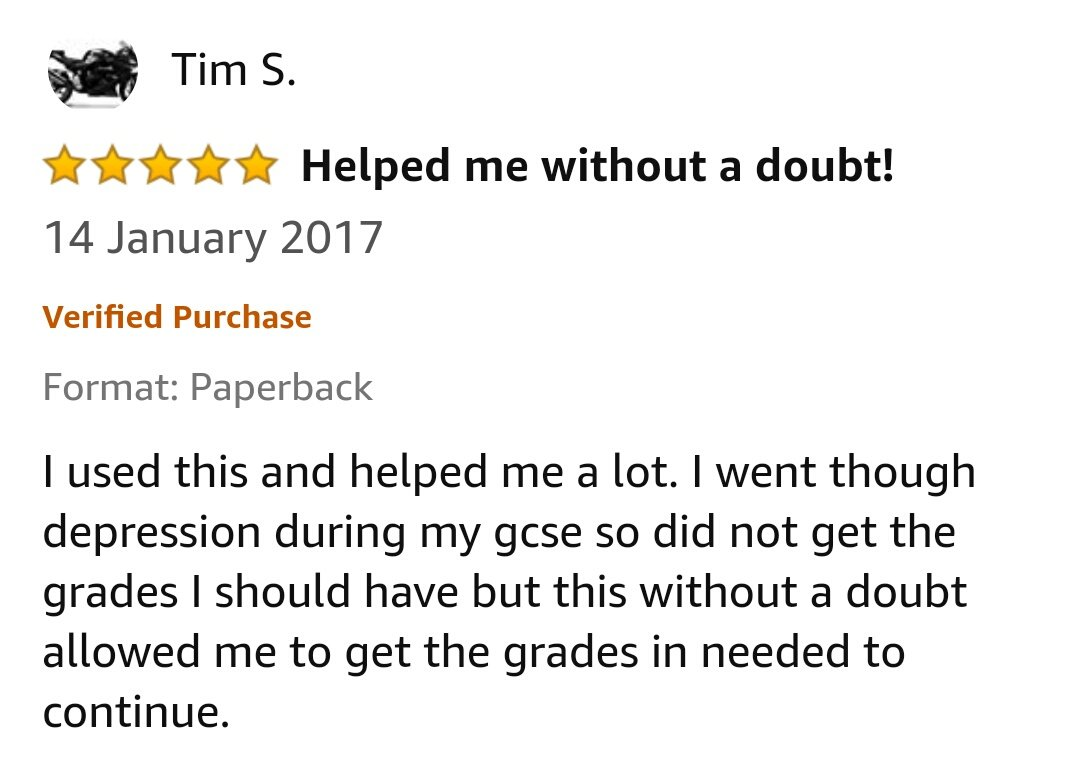 GCSE Reviews 13