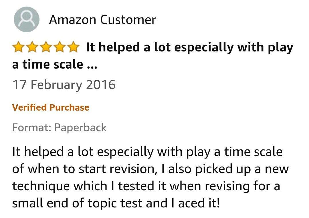 GCSE Reviews 50
