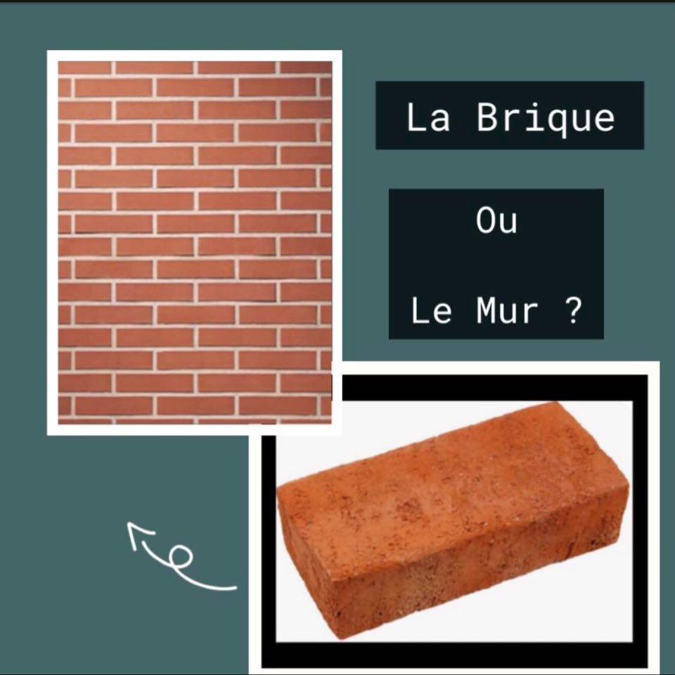 la brique ou le mur ?