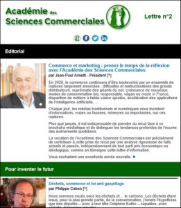 newsletter de l'académie des sciences commerciales