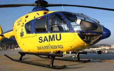 L'Hélicoptère au service des urgences médicales