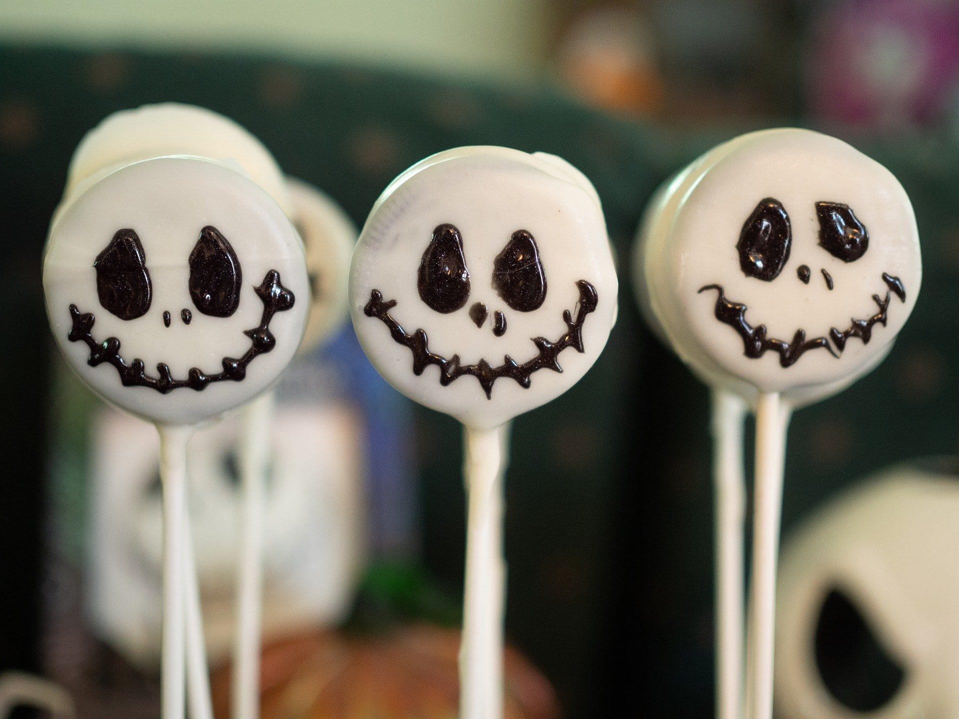Bonbons squelettes