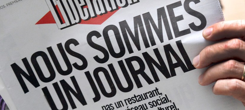 Serge July, Libération, journal d'opinion ?