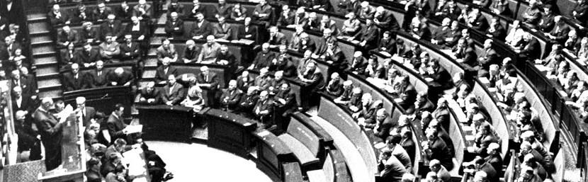 Eric Roussel :  la conquête parlementaire : 10 juillet 1940 – 3 juin 1958