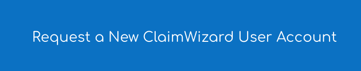 Adding a New User to ClaimWizard