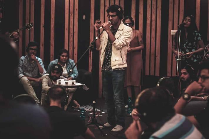 Live studio session
