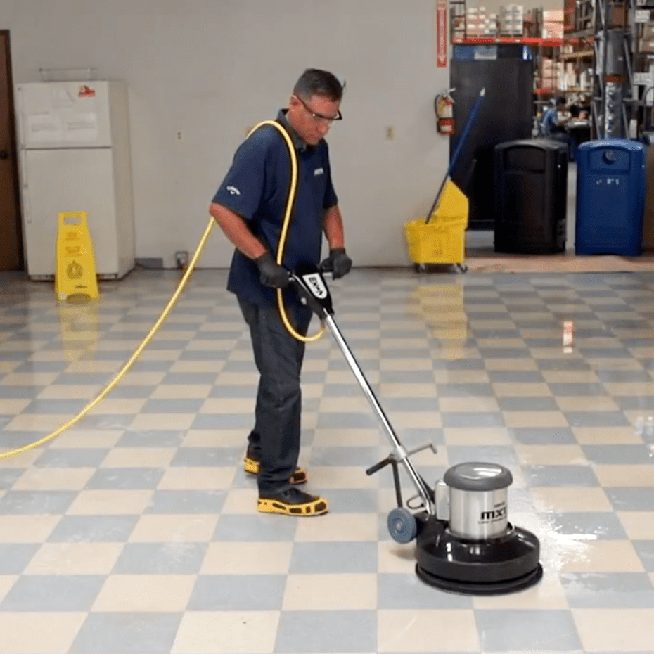 Traditional Floor Stripping