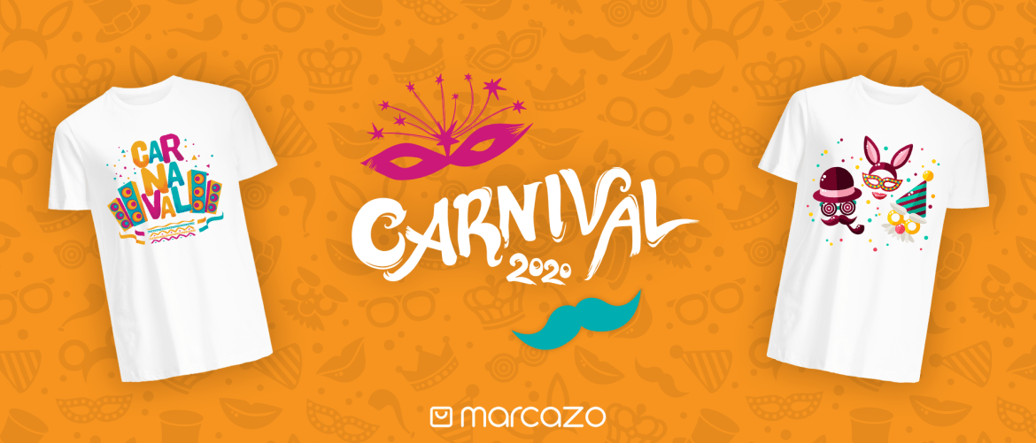 "alt=""Celebrate Carnaval 2020 with Marcazo and Print-on-Demand"""
