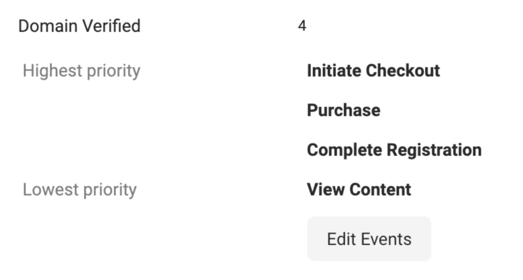 Prioritize your Facebook events: event examples