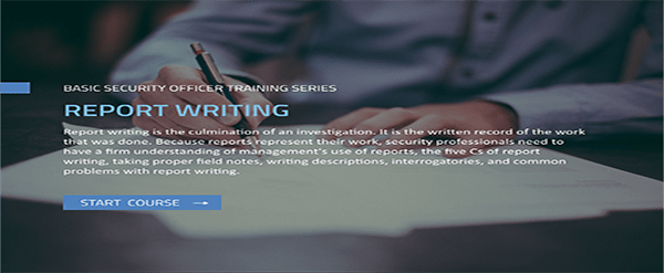 BSOTS: Report Writing course image