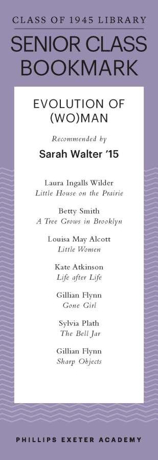 Sarah Walter '15