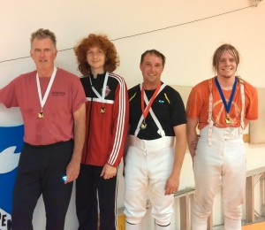 "Jordan Schmidt won Bronze medal at Bay Cup Epee tournament and earned ""D"""