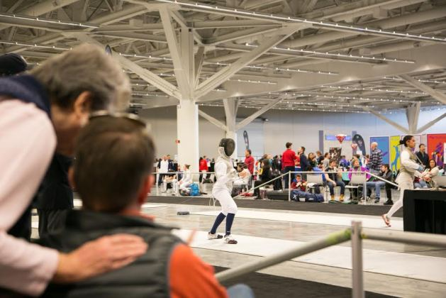 How to watch fencing bout
