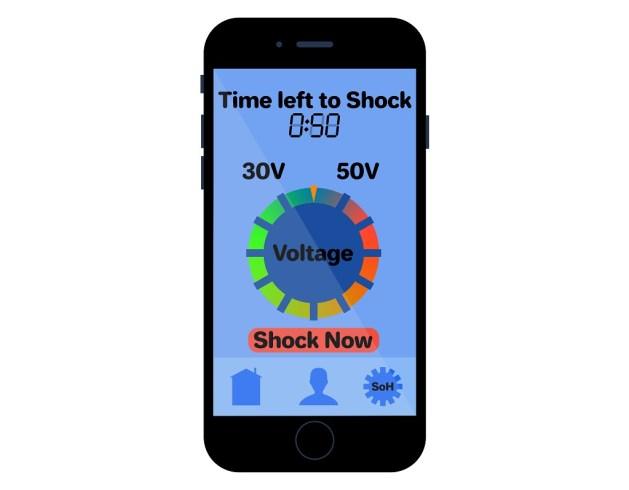 Electro shocker for u2f application