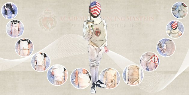 How to Put on Fencing Gear, With Illustration