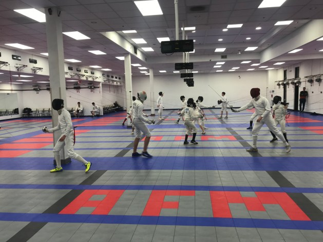 Practical Solutions for Fencers and Fencing Clubs in a Pandemic - Social Distancing in Fencing
