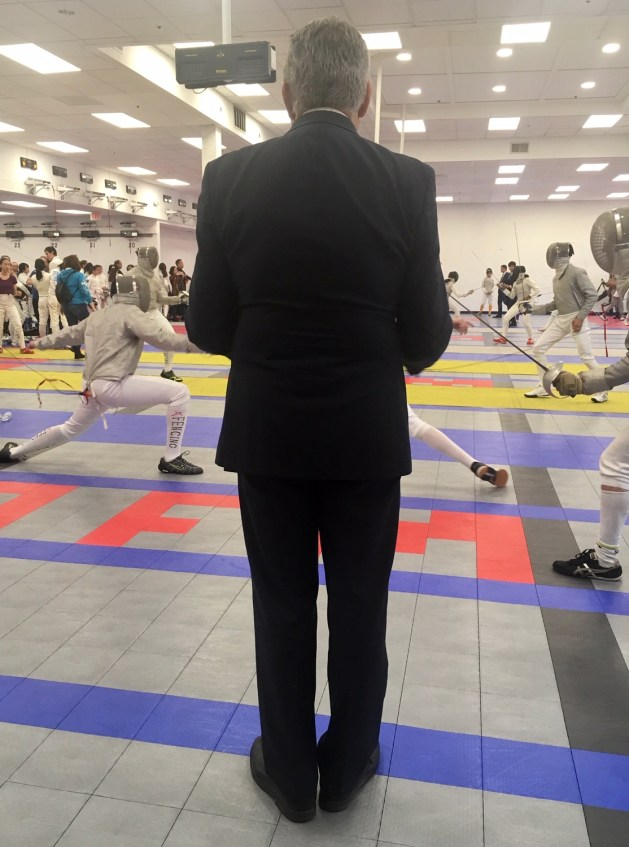 Peter Burchard - Candidate for USA Fencing President