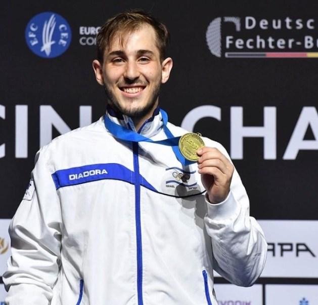Yuval Freilich - 2019 European Champion in Epee