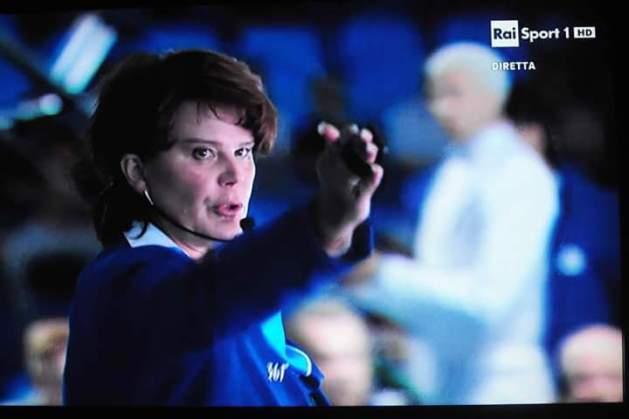 Natalia Zhuravleva - World #1 Fencing Referee