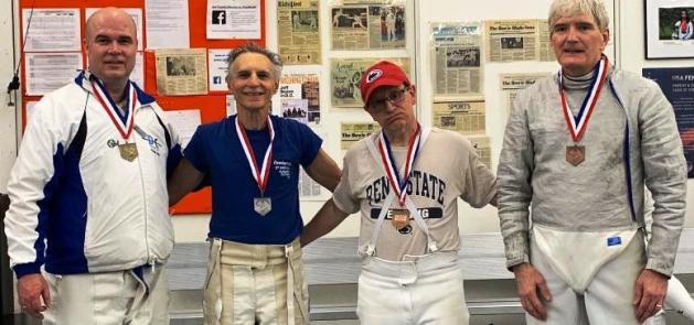 Rik Mayer - Silver medal at DCFC veteran Tournament
