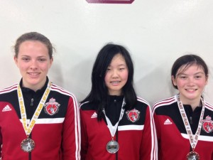 AFM sweep Y14 Women's Epee at Central California Summer Nationals Qualifiers