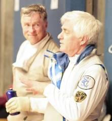 Alan Buchwald - veteran foil fencer