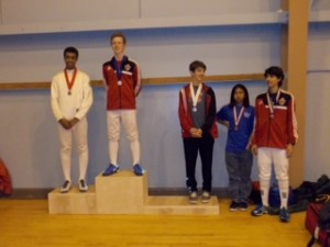 Alexander Javorski took Gold and Arshome Sahagun is 8th at Northern California RYC at Treasure Island