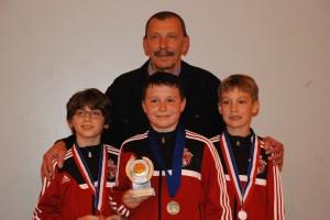 Coach Alexander and boys