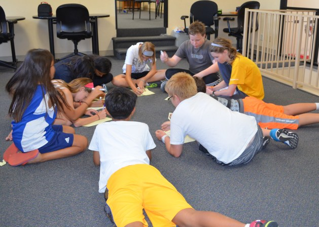 Sport Physiologist Hour at AFM Fencing Camp
