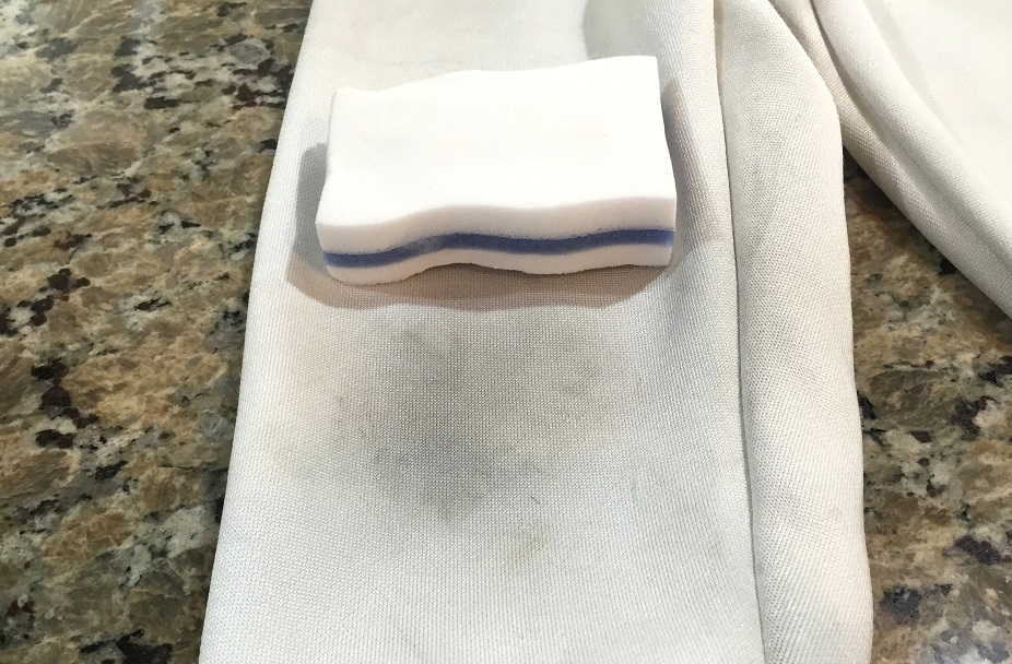 how to clean soap stains