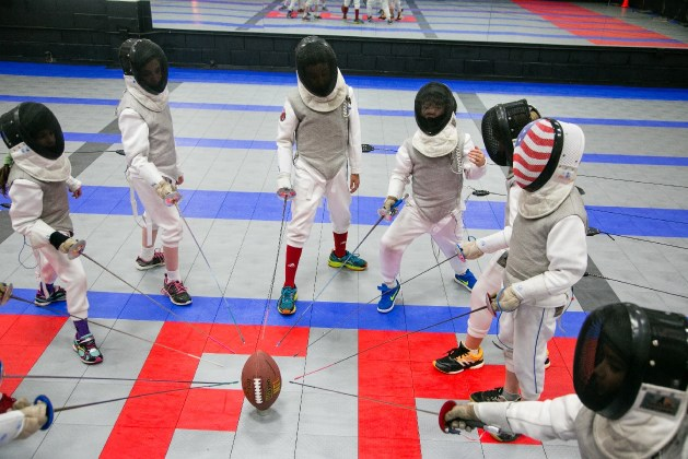 Super fencing Bowl How enjoying your sport makes you better fencing and football